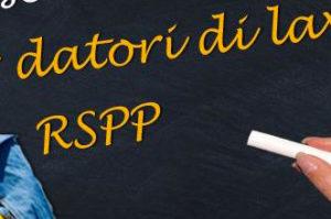 Corso RSPP datore di lavoro rischio basso