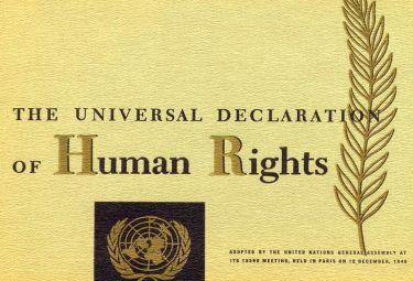 Dichiarazione Universale dei Diritti dell'Uomo, Articolo 3, 1948